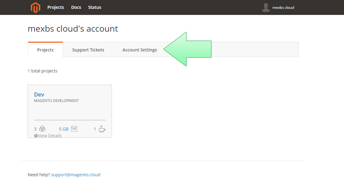 Developing on the Magento cloud - a step by step tutorial